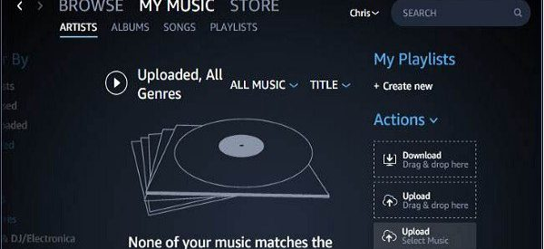 How to Import Music from your Device to Amazon Music Library