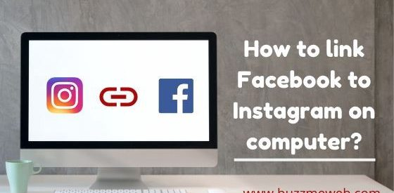 How to link Facebook to Instagram on a computer?