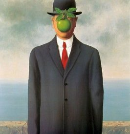 "How to look at the painting : ""The Son of Man"" by René Magritte"