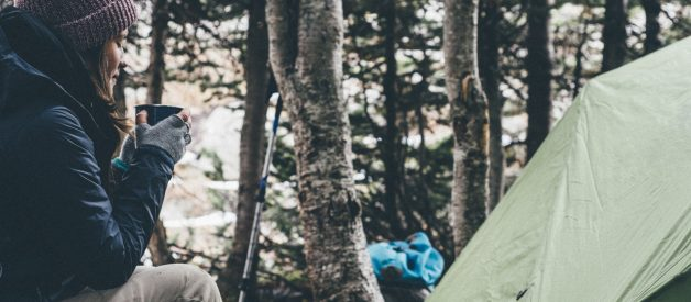 How to make coffee with a camping percolator