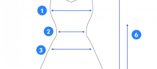 How to Measure a Dress?