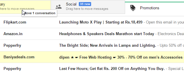 How To Move Gmail Emails From Promotions To Primary