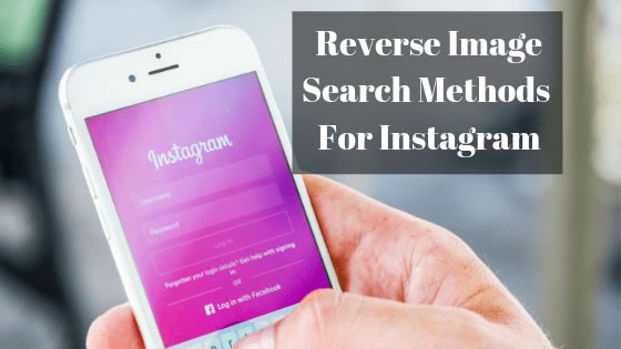 Instagram Reverse Image Search