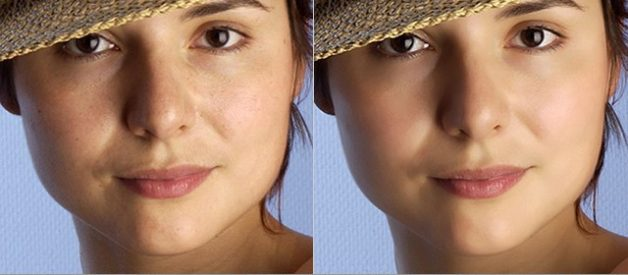 How to retouch and airbrush skin effetely in Photoshop