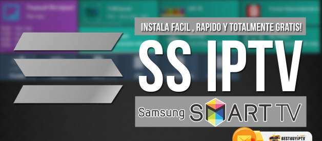 How to setup SS IPTV app on smart TV