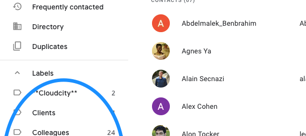 How to Share Google Contacts with Other Gmail Users