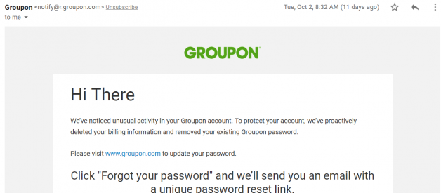 How to spot a phishing email?