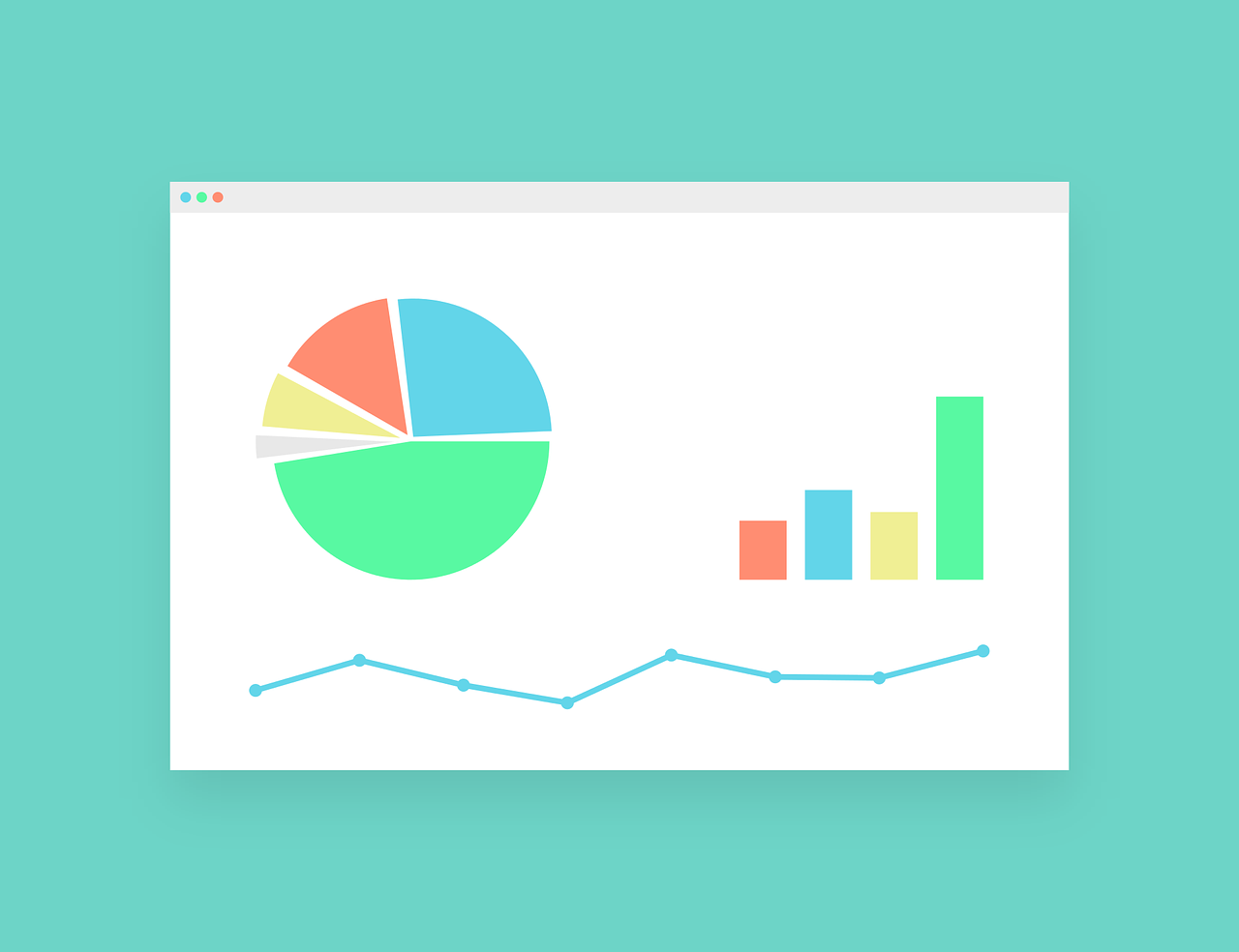 Analytics Charts and Graphs