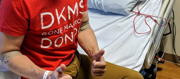 I donated bone marrow and this is what it was really like