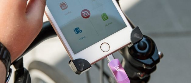 idime — First Magnetic, Dime-Sized iPhone Storage Expansion