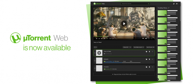Introducing µTorrent Web for Mac