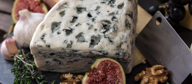 Is blue cheese an antimicrobial food?