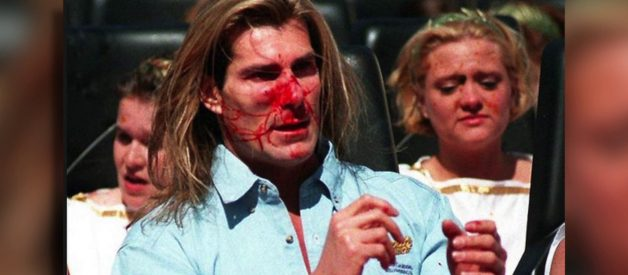 It Has Been Twenty Years Since Fabio Killed A Goose With His Face On A Roller Coaster