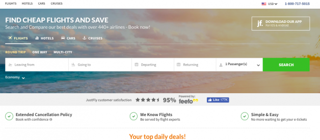 JustFly.com — A Scam Hiding In Plain Sight