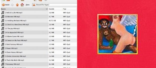 Kanye West fans finally crack leaked 'My Beautiful Dark Twisted Fantasy' album after 10 years