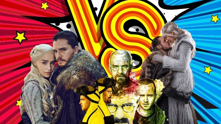 The Biggest Face-Off Of The 21st Century: Breaking Bad Vs Game Of Thrones
