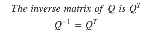[Linear Algebra] 9. Properties of orthogonal matrices