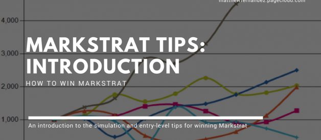 Markstrat Tips: Introduction | How to Win Markstrat (2018)