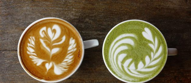 Matcha VS Coffee: What's the difference? 🍵☕