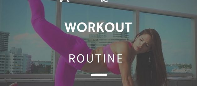 Michelle Lewin Workout Routine and Diet Plan
