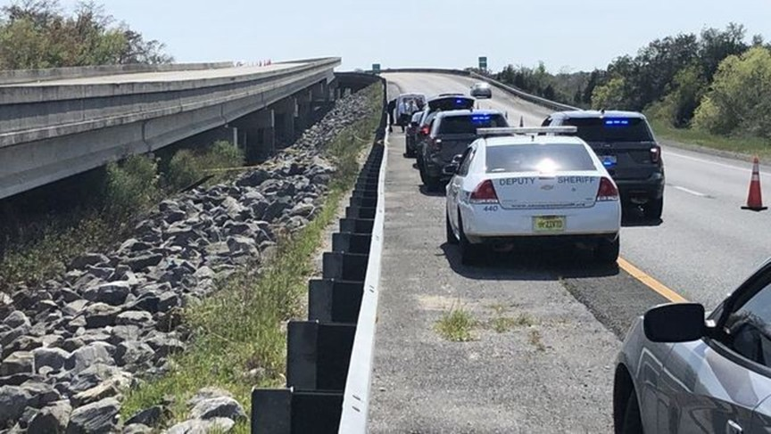 The body of Gannon Stauch was found alongside a highway on the Escambia River Bridge in Pace, Florida on March 17, 2020.