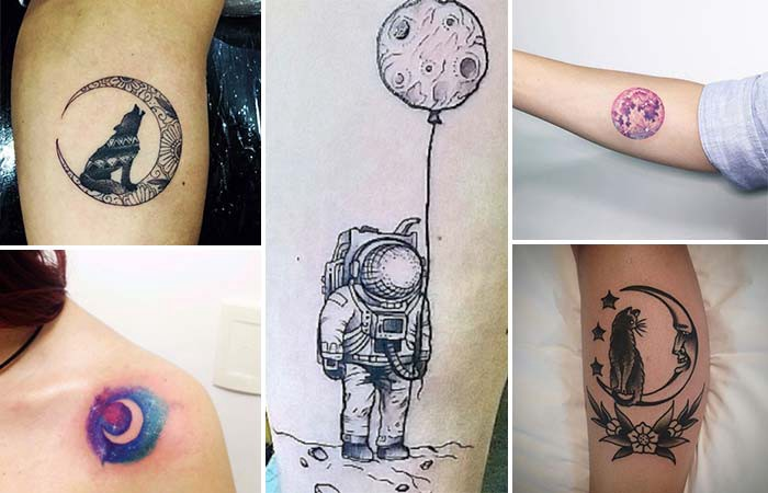 moon tattoos designs