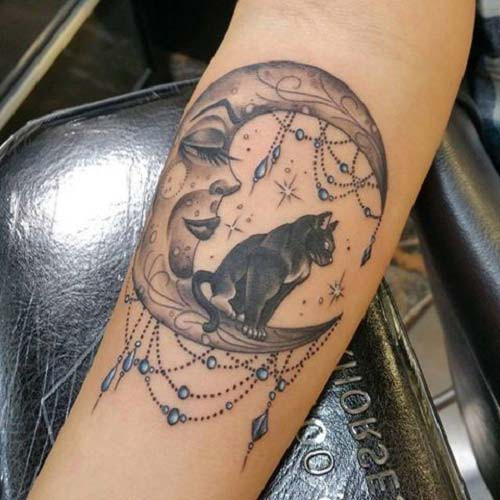 moon tattoos moon tattoos 8