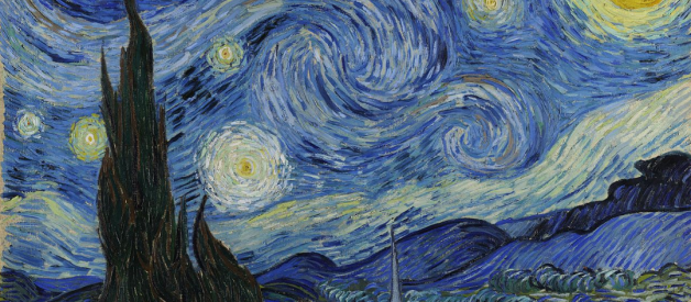 More info of The Starry Night 1889 by Vincent van Gogh