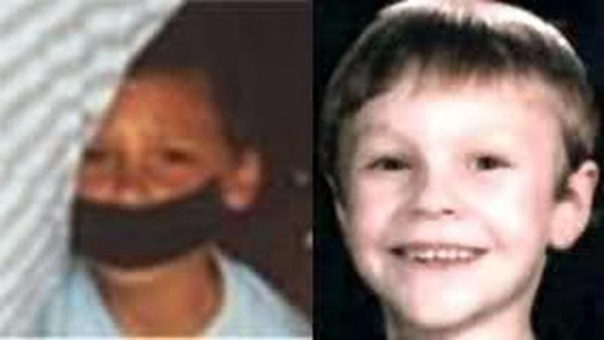 Polaroid photograph of unidentified boy and Michael Henley, missing since April 1988, from New Mexico.