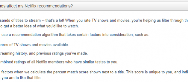 Netflix recommendations are broken… There's an alternative.