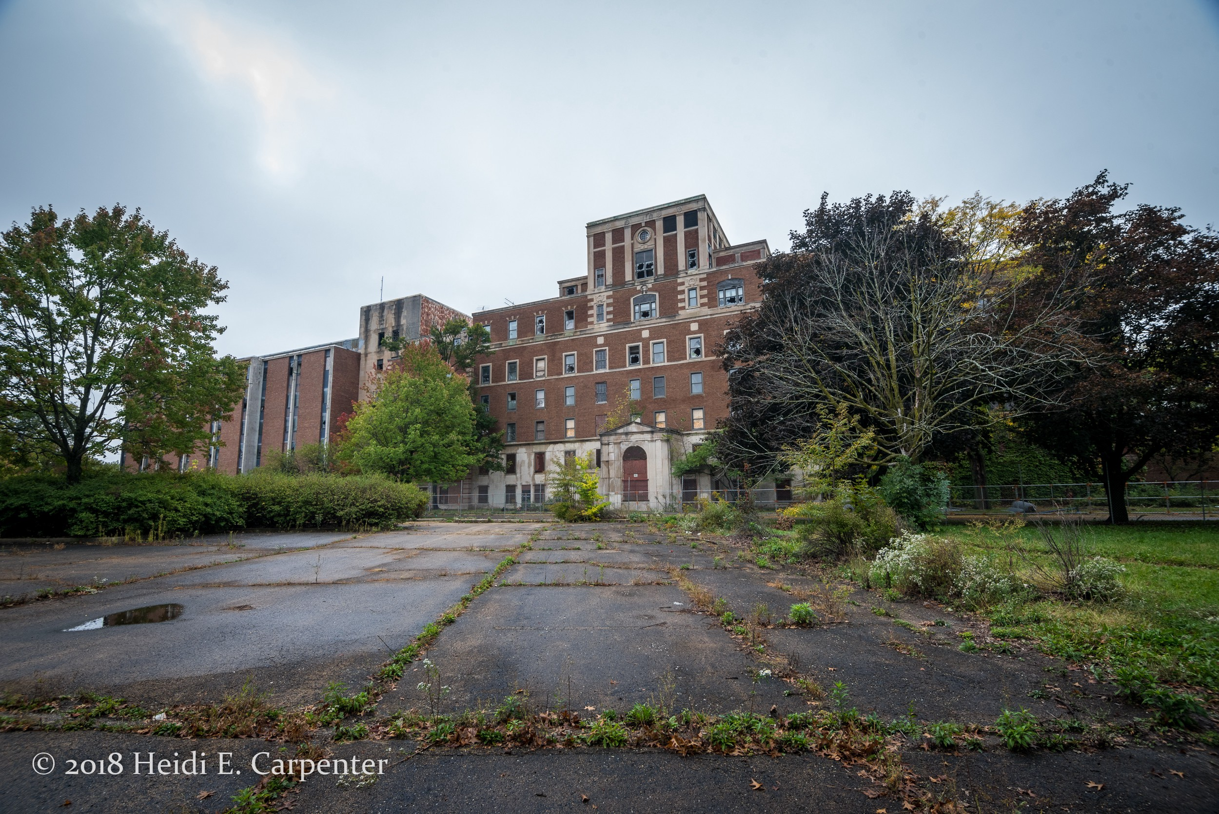 Old Copley Hospital has been abandoned since 1995.