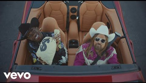 Old Town Road remix lyrics Lil Nas X ft. Billy Ray Cyrus in English