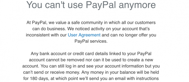 PayPal May Limit Your Account If Your Data Is Listed On the Dark Web