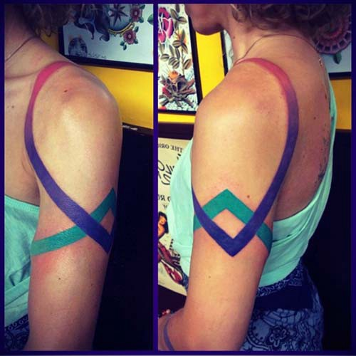 woman shoulder tattoos woman shoulder tattoos 3