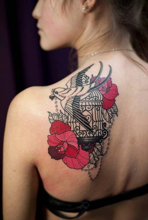 woman shoulder tattoos woman shoulder tattoos 8