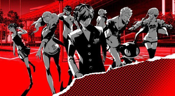 Persona 5 Steel Book Artwork