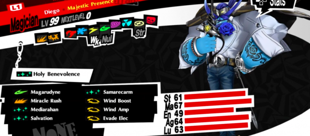 Persona 5 Royal Party Member Builds