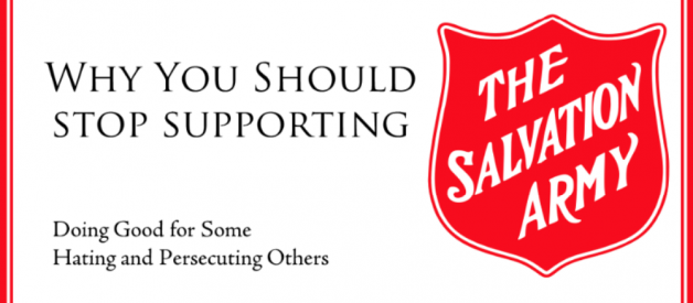 Please Don't Support the Salvation Army