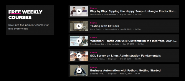 Pluralsight Benefits: How to enjoy Pluralsight trial & 3 months / 6 months / a year of free Premium access to all courses?