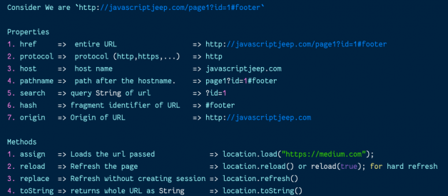 Redirect, Refresh, and Access the URL of the Current Page in JavaScript