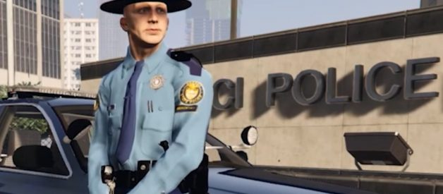 Retired Cop Is Going Viral On Twitch With His Hilarious GTA V Character — Sheriff Eli Thompson