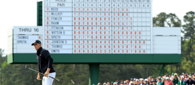 Revisualizing The Masters Leaderboard