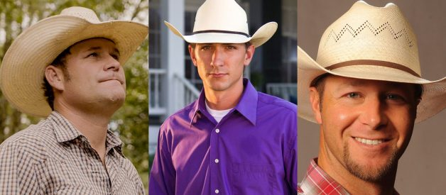 """Rising Stars Bubba Thompson, Cody Harris, and Booger Brown of the Cowboy Way: """"Any organization that exposes children to nature and the environment, is very near and dear to our hearts"""""""