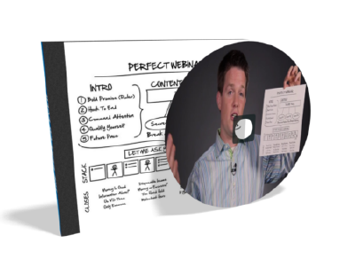 The perfect webinar dvd created by Russell Brunson