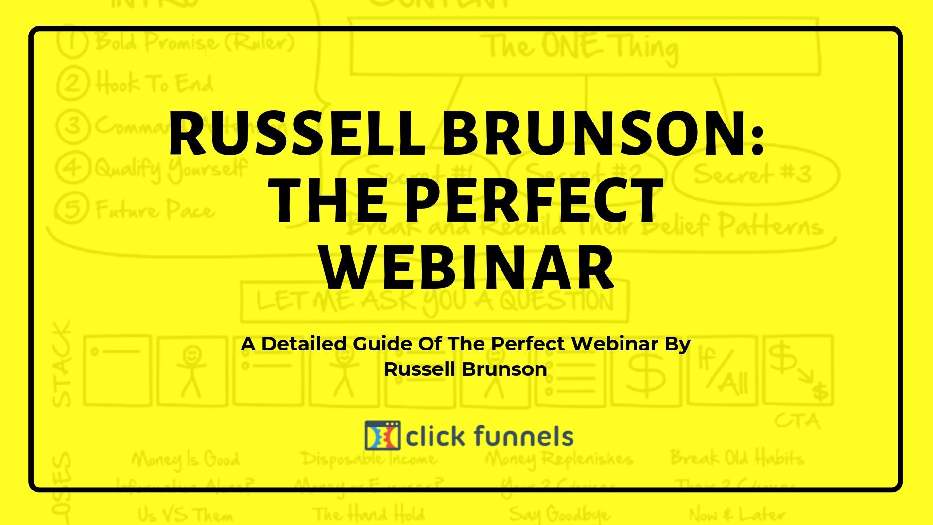 The perfect webinar script and template by Russell Brunson