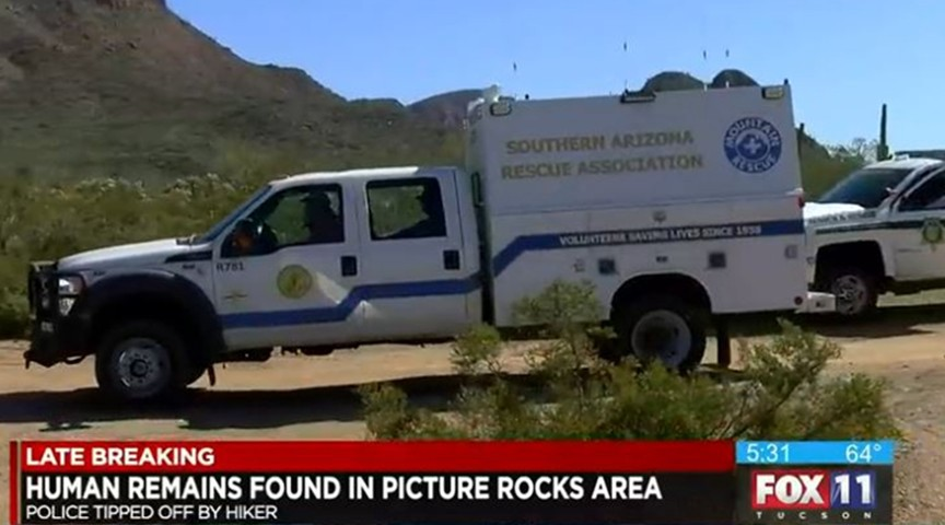 A hiker found human remains in Picture Rocks, Arizona, leaving many to wonder if they were that of Sarah Galloway.