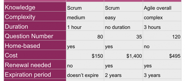 Scrum Master Certification — What Provider To Choose?