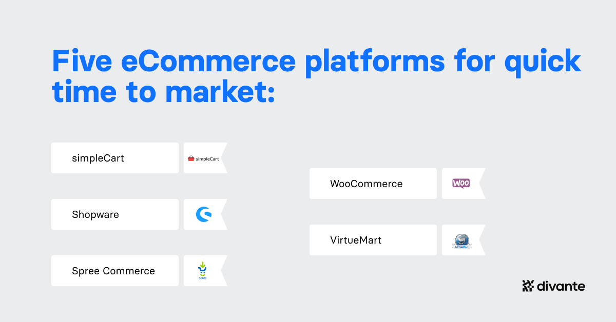 Open Source Platforms for short Time 2 Market