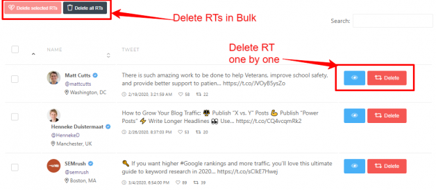 Six Twitter Tool to Delete Bulk Tweets