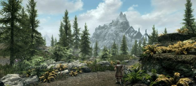 Skyrim Has Problems On PS4 Pro